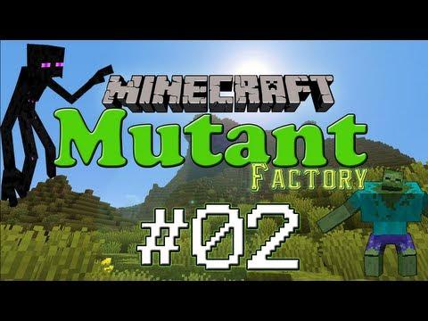 [Minecraft FR]Mutant Factory 02 : Ressources, exploration et prank !