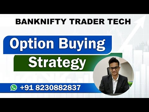 Best Options Buying Strategy with Live trade | 80 % Working on Bank Nifty Option ||