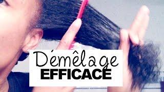 #1Ձ5 - | TUTO | Démêlage occasionnel en cas de grande rebellion capillaire | TOUT types de cheveux