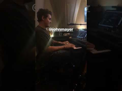 John Mayer Playing Bill Evans on the Piano