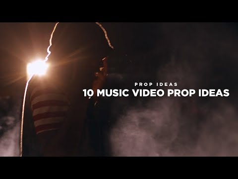 10 Music Video Prop Ideas! (Smoke Grenades, Money, & MORE)