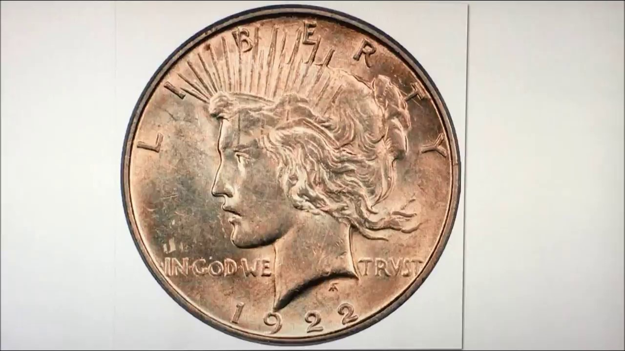 Extremely Rare Double Struck 1922 Peace Dollar Worth Money