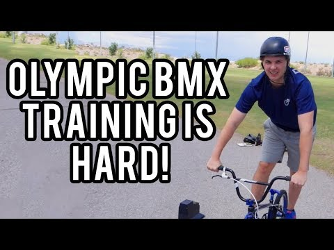 Training with OLYMPIC BMX Racing Gold Medalist Connor Fields for a day (It was hard)