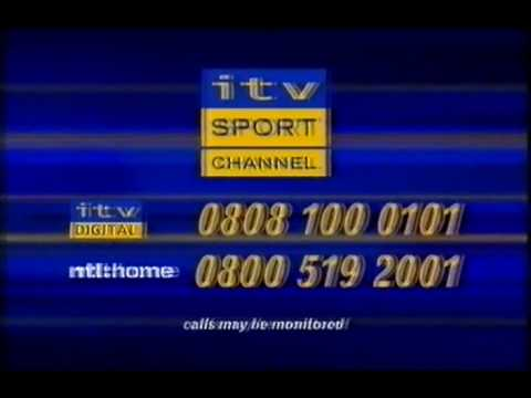 ITV Sport Channel Promo - 2001