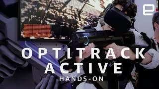 OptiTrack Active hands-on at GDC 2018 | Hands-On