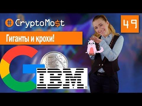 GOOGLE ВНЕДРЯЕТ БЛОКЧЕЙН ТЕХНОЛОГИЮ. IBM ЗАПУСТИЛ ПЛАТФОРМУ ДЛЯ БЛОКЧЕЙН-СТАРТАПОВ CryptoMost №49