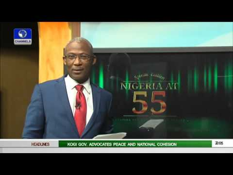 Channelstv Hosts Special Independence Programme As Nigeria Clocks 55 01/10/15 Pt 1
