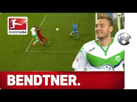 Nicklas Bendtner - Wolfsburg's Supercup Hero