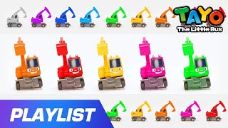 Color Song l Strong Heavy Vehicles l Poco Color Song l Car Songs l Toy Songs l Tayo the Little Bus