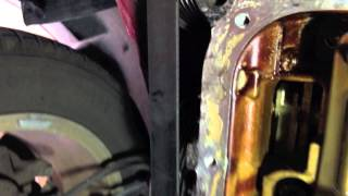How Fix Leaky Oil Pan Toyota Corolla Matrix Xrs And Replace Mtf