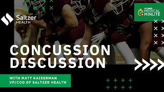 Gambar cover Concussion Discussion with VP/COO at Saltzer Health Matt Kaiserman : KTVB Medical Minute