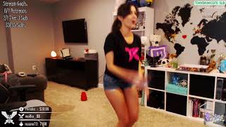 Twitch - CinCinBear Belly Button Showing Mega Compilation