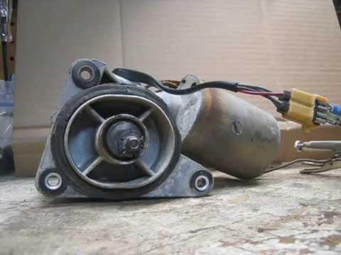 slayrr 1973 mopar 3 speed wiper motor test