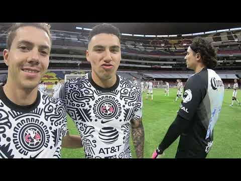 Detrás de cámaras Foto Oficial Club América GUARD1ANES 2021