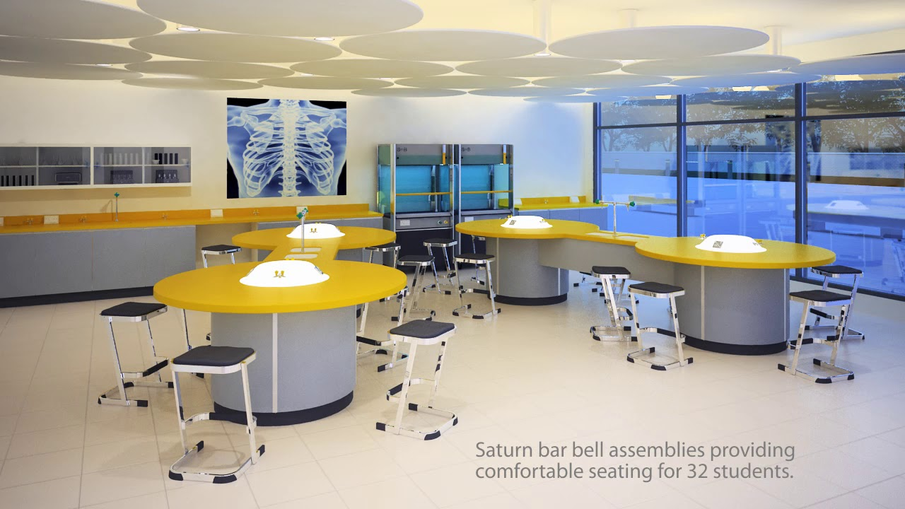 Saturn Light School Science Laboratory Furniture By S B Uk