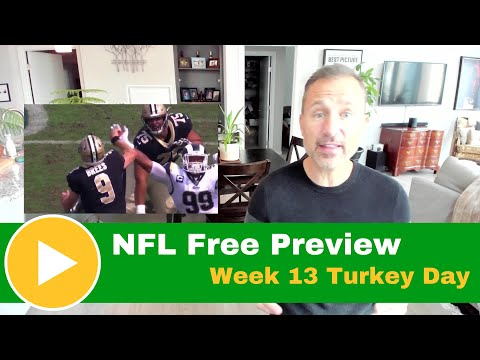 NFL Picks Preview: Saints Vs. Falcons 2019 Turkey Day