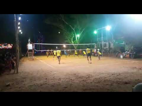 Kerala volleyball match