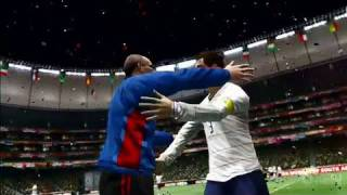 2010 FIFA World Cup South Africa Xbox 360 Gameplay - World