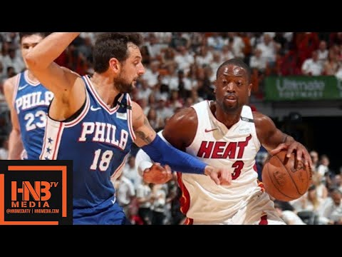 Miami Heat vs Philadelphia Sixers Full Game Highlights / Game 4 / 2018 NBA Playoffs