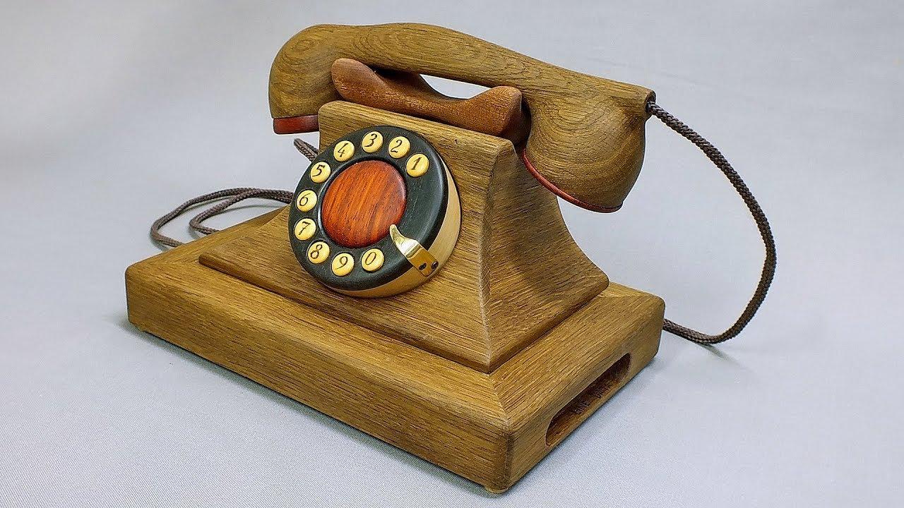 Телефон из дерева своими руками. Со времен СССР