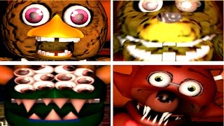 Repeat youtube video Stuffed 2 - All Jumpscares (NEW Animatronics)