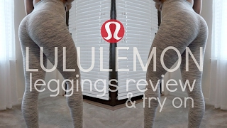 LULULEMON REVIEW & TRY ON | ALIGN PANT, WUNDER UNDER, ALL THE RIGHT PLACES LEGGINGS