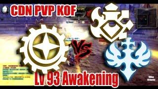 Dragon Nest China - Lv 93 Gear Master vs Saint & Adept #Awakening Skill
