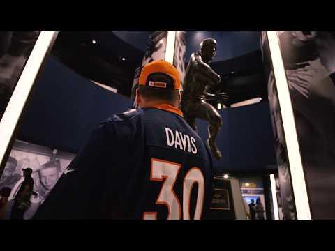 Terrell Davis enshrined in football immortality
