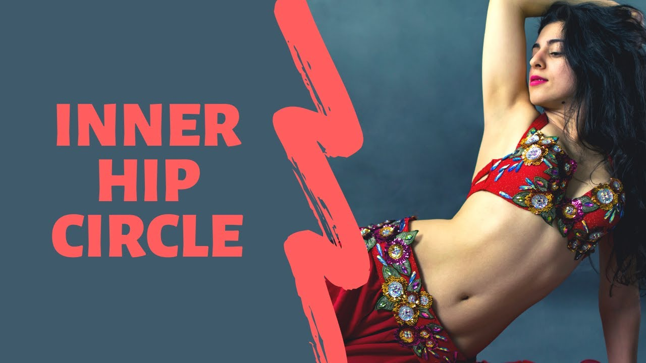 Belly Dance For Beginners | How To Do Interior Hip Circles #7