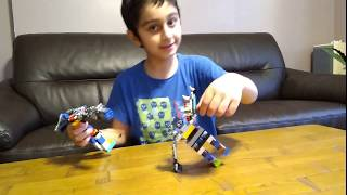 Parsa's Victory in the Lego Robot Battle