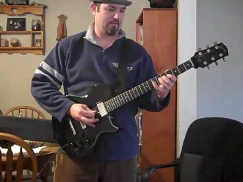 Gibson L6-S demo #1 Distortion