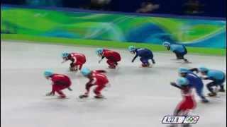 Patinage de vitesse relais 5000m Jeux Olympiques de Vancouver 2010.