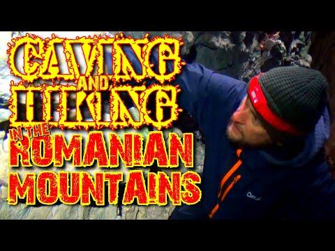 Caving And Mountain Hiking In The Dark - Romanian Carpathian Mountains