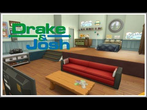 Drake Josh Room The Sims 4 Speed Build Youtube