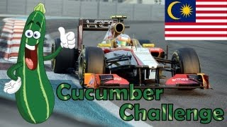F1 2012 Career Mode Part 2: Malaysia (Cucumber Challenge)