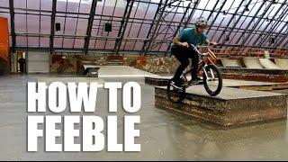 How To Feeble Grind Bmx (Как Сделать Фибл Гринд На Бмх) | Школа Bmx Online #14