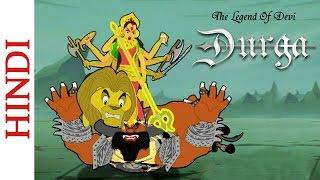 Die Legende Von Devi Durga - Kinder Comic Action-Szene