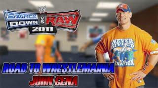 WWE SmackDown vs Raw 2011 - Road to Wrestlemania: John Cena - #01 - Ajuda Inesperada