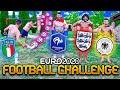 ⚽EURO 2020 FOOTBALL CHALLENGE con GLI ELITES!💎