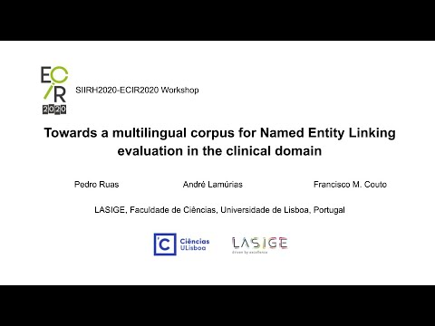 Towards a multilingual corpus for Named Entity Linking evaluation in the clinical domain