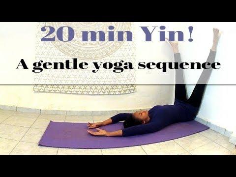 twenty min yin 20 minute restorative yoga sequence