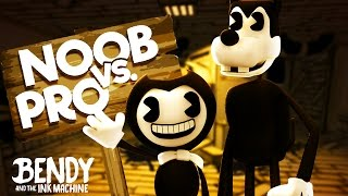 Minecraft Noob Vs Pro - BENDY AND THE INK MACHINE