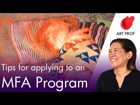 Art Professor Gives MFA Graduate Program Secrets, Part 1