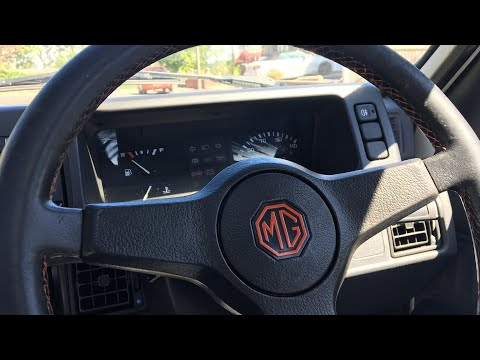 Fitting An MG Steering Wheel To My Metro
