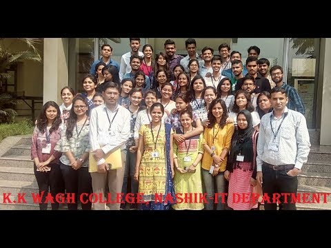 Industrial visit-The times of India kk wagh college IT department