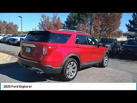 2020 Ford Explorer Live Alpharetta GA 204037