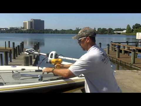 How To Install 3 Inch Rise Bow Mount - Capt Tim Fey | Dig In Shallow Water Anchors