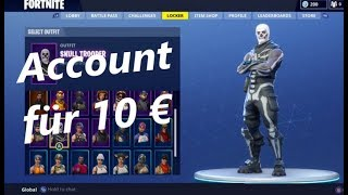 INCOMVES FORTNITE ACCOUNT PURCHASED !!