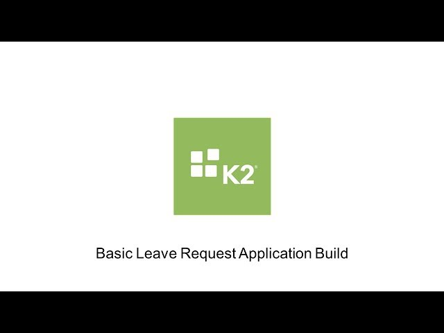 How-To: Basic Leave Request Build