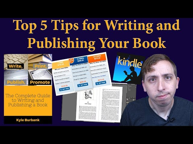 5 Steps to Publishing Your Own Book